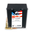 Premium 6.5mm Grendel Ammo For Sale - 123 Grain BTHP Ammunition in Stock by Hornady American Gunner - 200 Rounds in Field Box