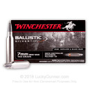Premium 7mm Remington Magnum Polymer Tip Ammo For Sale - 140 gr Ballistic Silvertip Ammunition In Stock by Winchester - 20 Rounds