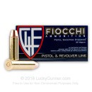 Bulk 357 Mag Ammo For Sale - 158 gr CMJFP Fiocchi Ammunition In Stock - 1000 Rounds