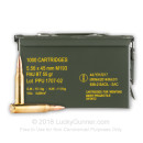 Bulk 5.56x45mm Ammo For Sale - 55 Grain FMJ Ammunition in Stock by Prvi Partizan - 1000 Rounds with Ammo Can