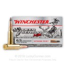 Bulk 6.5 Creedmoor Ammo For Sale - 125 Grain Extreme Point Polymer Tip Ammunition in Stock by Winchester Deer Season XP - 200 Rounds