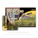 "Cheap 12 Gauge Ammo For Sale - 3"" 1-1/4 oz. #3 Steel Ammunition in Stock by Fiocchi Golden Waterfowl - 25 Rounds"