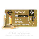Bulk 223 Rem Ammo For Sale - 69 Grain HPBT Match Ammunition in Stock by Prvi Partizan - 1000 Rounds