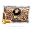 Bulk 9mm Ammo In Stock - 124 gr FMJ - 9 mm Luger Ammunition by Military Ballistics Industries For Sale - 1000 Rounds