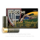 "Cheap 12 Gauge Ammo For Sale - 3"" 1 1/4 oz. #2 Steel Shot Ammunition in Stock by Fiocchi Golden Waterfowl - 25 Rounds"