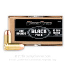 Bulk 40 S&W Ammo For Sale - 180 gr FMJ - Blazer BLACK 40 cal Ammunition In Stock - 350 Rounds