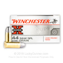 Bulk .44 Special Ammo For Sale - 246 grain LRN Ammunition in Stock by Winchester Super-X - 500 Rounds
