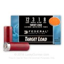 "Cheap 12 Gauge Ammo - 2-3/4"" Lead Shot Target shells - 1 oz - #8 - High Velocity - Federal Top Gun - 25 Rounds"