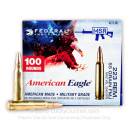 Bulk 223 Rem Ammo For Sale - 55 gr FMJ Ammunition In Stock by Federal American Eagle - 1,000 Rounds Boxed