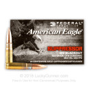 Bulk 300 AAC Blackout Ammo For Sale - 220 Grain OTM Subsonic Ammunition in Stock by Federal American Eagle - 500 Rounds