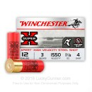 "12 Gauge Ammo - Winchester Super-X Waterfowl 3"" #4 Shot - 25 Rounds"