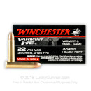 Cheap .22 Mag Ammo For Sale - 34 Grain JHP Ammunition in Stock by Winchester Supreme - 50 Rounds
