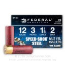 "12 ga - 3"" 1-1/8 oz #2 Waterfowl Load - Federal Speed Shok  - 25 Rounds"
