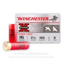 "16 Gauge Ammo - Winchester Super-X 2-3/4"" #8 Shot - 25 Rounds"