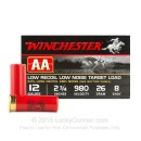 "12 Gauge Ammo - 2-3/4"" Lead Shot Low Recoil Target shells - 7/8 oz - #8 - Winchester AA - 250 Rounds"