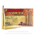 270 Win - 130 gr Lead Free TTSX Hollow Point Barnes VOR-TX Ammunition - Barnes - 20 Rounds