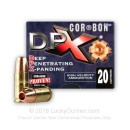 Premium 9mm Ammo For Sale - 95 Grain DPX SCHP Ammunition in Stock by Corbon - 20 Rounds