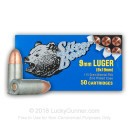 9mm Ammo For Sale - 115 gr FMJ -  Silver Bear Ammunition Online