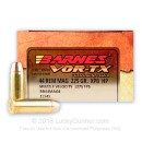 44 Magnum Barnes Ammo For Sale - 225 gr XPB Hollow Point Barnes Ammunition In Stock - 20 Rounds