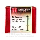 "Premium 6.5mm (.264"") Bullets For Sale - 160 Grain HPBT Bullets in Stock by Hornady - 100 Projectiles"