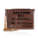 Cheap Ammo For Sale - 145 Grain FMJ Ammunition in Stock by Ethiopian Military Surplus - 280 Rounds in 30 Cal Ammo Can