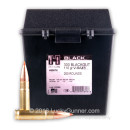 Premium 300 AAC Blackout Ammo For Sale - 110 Grain V-MAX Ammunition in Stock by Hornady BLACK - 200 Rounds in Field Box