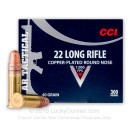 22 LR Ammo For Sale - 40 gr CPRN - CCI AR-Tactical Ammunition In Stock - 300 Rounds
