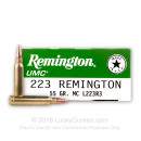 Bulk 223 Rem Ammo For Sale - 55 Grain MC Ammunition In Stock by Remington UMC