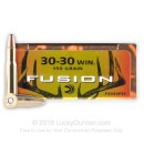 Bulk 30-30 Ammo For Sale - 150 gr SP - Federal Fusion Ammo Online - 200 Rounds