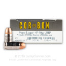 Premium 9mm Ammo For Sale - +P 90 Grain JHP Ammunition in Stock by Corbon - 20 Rounds