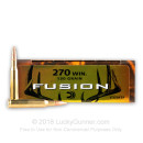 270 Ammo For Sale - 130 gr Fusion - Federal Fusion Ammo Online