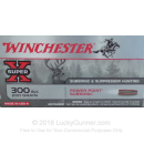 Subsonic 300 AAC Blackout Ammo For Sale - 200 Grain hollow point Ammunition in Stock by Winchester - 20 Rounds