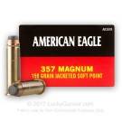 357 Mag - 158 Grain JSP - Federal - 1000 Rounds