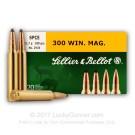 300 Winchester Magnum - 180 gr SPCE - Sellier & Bellot - 20 Rounds