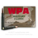 30-06 - 145 Grain FMJ - Wolf - 500 Rounds