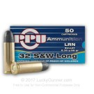 32 S&W Long - 98 Grain LRN - Prvi Partizan - 50 Rounds