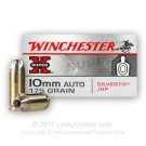 10mm Auto - 175 Grain JHP - Winchester Super-X Silvertip - 20 Rounds