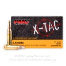 5.56x45 - 55 Grain FMJ-BT M193 - PMC - 1000 Rounds