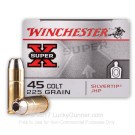 45 Long Colt - 225 Grain JHP - Winchester Super-X Silvertip - 20 Rounds