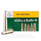 303 British - 180 gr SP - Sellier & Bellot - 20 Rounds