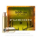 500 S&W Magnum - 325 gr Fusion - Federal Fusion - 20 Rounds