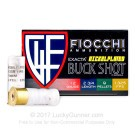 "12 Gauge - 2-3/4"" 00 Buck - Fiocchi High Velocity - 250 Rounds"