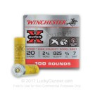 "20 Gauge - 2-3/4"" Xpert High Velocity #7 Steel - Winchester - 100 Rounds"