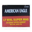 17 WSM - 20 Grain Polymer Tip - Federal American Eagle - 500 Rounds