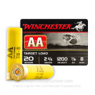 "20 Gauge - 2-3/4"" 7/8 oz. #8 Shot - Winchester AA Target Loads - 25 Rounds"