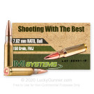 7.62x51mm - 150 Grain FMJ - IMI - 50 Rounds