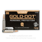 223 Rem - 75 Grain SP - Speer Gold Dot - 20 Rounds