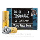 "20 Gauge - 2-3/4"" 1 oz. #8 Shot - Federal Game Shok - 250 Rounds"