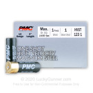 "12 Gauge - 3"" 1oz. #1 Steel Shot - PMC High Velocity Magnum - 250 Rounds"