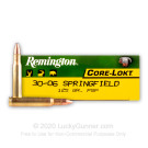 30-06 - 125 gr PSP - Remington Express - 20 Rounds